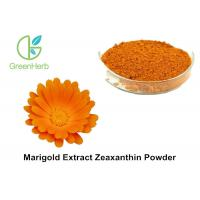 Buy cheap Natural Food Coloring Powder , 5% Marigold Flower Extract Zeaxanthin Powder from wholesalers