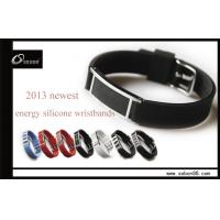 Buy cheap Pure Titanium Power Balance Silicone Bracelet 316L Stainless Steel from wholesalers