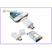 Buy cheap USB i- Flash Drive HD For iPhone / ipad with Toshiba Samsung Flash Chip , 16G 32G 64G from wholesalers