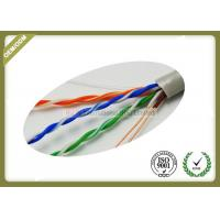 Buy cheap 305m / Roll Cat5e UTP Network Cable 4 * 2 * 0.45mm Pass Fluke Test With Real OD from wholesalers