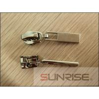 Buy cheap NO.5 Nylon sliders rhinestone letters sliders in rose gold plating from wholesalers