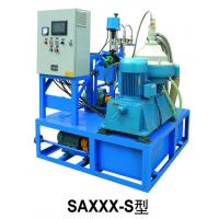 Buy cheap 380V / 50Hz Heavy Fuel Oil Purifier PLC Auto Controlled Industrial Decanter from wholesalers