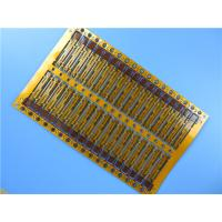 Buy cheap Assembled Flexible PCB Built On 0.15mm Polyimide (PI) With Immersion Gold for Portable Sound System from wholesalers