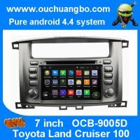 Buy cheap Ouchuangbo Toyota Land Cruiser 100 pure android 4.4 OS autoradio stereo dvd navi build in product