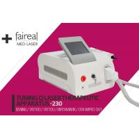 Buy cheap Multifunctional Beauty Equipment Q-Switched ND Yag Laser Machine For Tattoo Removal from wholesalers
