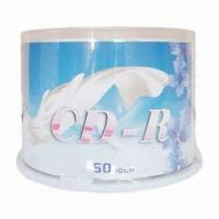 Buy cheap Printed CD-R, 25pcs Cake Box Packaging with Virgin Material and High Quality from wholesalers