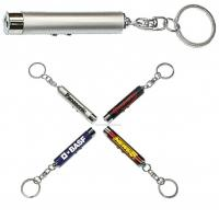 Buy cheap 4 x AG3 Cell Buttonsmetal LED Flashlight Keychains Gift With 7 Colors product