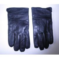 Buy cheap Thick Fleece Custom Logo Winter Warm Cheap Stretch Touch Screen Smart Finger Men Touch Leather gloves from wholesalers