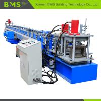 Buy cheap Concrete C Channel Purlin Roll Forming Machine 12-15m/min Production Capacity from wholesalers