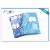 Buy cheap ISO Approved nonwoven disposable bed sheets for hospital / spa / massage from wholesalers
