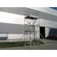 Buy cheap Stair Tower Rolling Stairway Scaffolding 2kn / ㎡ Cold Formed Jointing System from wholesalers
