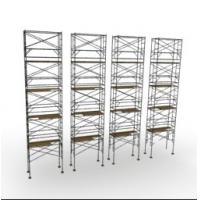 Buy cheap Galvanized Safe Construction Scaffold , Professional Q345 H Frame Steel Scaffold from wholesalers