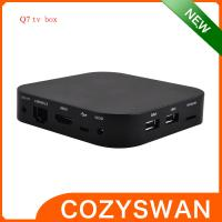 Buy cheap 8GB ROM XBMC RK3188 Smart TV Box Q7 Quad Core Mini PC Rock Chip Cortex A9 Mali 400 GPU from wholesalers