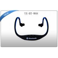 Buy cheap Black Sports Bluetooth 2.1 neck Back Headphones Noise Cancelling Headset product