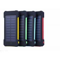 Waterproof  Portable Solar Charger Power Bank 10000mah For Mobile Phones
