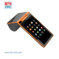 Buy cheap ZKC901 touch screen GPRS 3G Printer Android Wireless WiFi NFC Card Reader from wholesalers