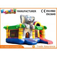 Buy cheap Inflatable Animal Bouncy Castle With Slide For Kids And Adults from wholesalers
