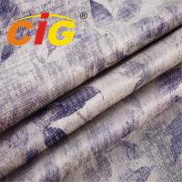 Buy cheap Soft Touching Velvet Abrasion - Resistant Sofa Upholstery Fabric Weight 380gsm product