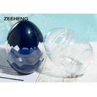 China Food grade creative egg shape plastic PET bottle cold drinking water candy cup on sale