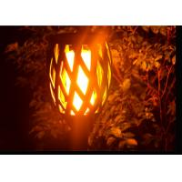 Buy cheap Flickering Solar Led Garden Lights With Dance Flame For Pathway Yard Decoration from wholesalers