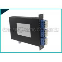 Buy cheap 4 Channels Fiber Distribution Panel High Efficiency For System Monitoring from wholesalers
