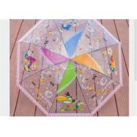 Buy cheap Kids Clear See Through Umbrella , Transparent Compact Umbrella Tree Printing from wholesalers