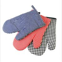 Buy cheap Safety Durable  Printed Oven Mitts Everyday Use Fashionable  For BBQ Cooking product