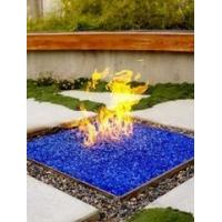 Buy cheap Decorative glass fireglass decoration fireplace fire glass from wholesalers