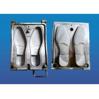 Buy cheap Single Color Rubber Sole Mold , Causal Shoe Making Mold High Precision from wholesalers