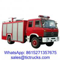 Buy cheap 6000L 190HP Foam Water Firefighting Truck 4 x2 DongFeng for sale from wholesalers