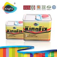 Buy cheap KINGFIX high bonding strength nitro putty for car small area repair from wholesalers