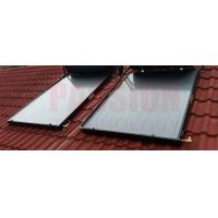 Buy cheap Blue Coating Flat Plate Solar Collector , Blue Absorber Flat Panel Solar Collector from wholesalers