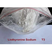 Buy cheap Pharmaceutical Raw Materials Hot Weight Loss Drug 99.9% Liothyronine Sodium / T3 Steroid Powder from wholesalers