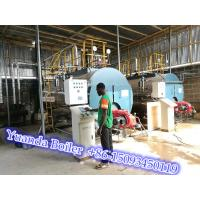 Buy cheap Industrial Fire tube 8 ton 8000kg 8 tph gas fired steam boiler price from wholesalers