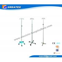 Buy cheap Hospital IV Pole Stands with Five Plastic / Chrome Base for Transfusion from wholesalers