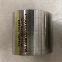 Buy cheap NPT ASTM A182 F347 Stainless Steel Pipe Coupling from wholesalers