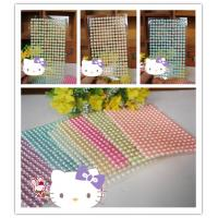Buy cheap Hot sale self Adhesive rhinestone Stickers pearl gem Stickers from wholesalers