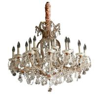Buy cheap rounded crystal chandelier DT-E-127 from wholesalers
