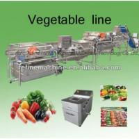 Buy cheap Vegetable washing machine/potato peeling machine vegetable processing line leafy vegetables from wholesalers