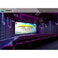 Buy cheap High Definition  Sound Vibration Cinema With Big Screen Dual Projectors from wholesalers