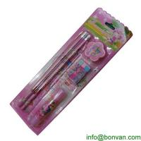 Buy cheap New fashion Korean cartoon style Mechanical pencil stationery set from wholesalers