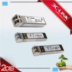 Buy cheap 4.25G CWDM SFP Optical Fiber Transceiver , Lightweight WDM SFP Transceiver Equipment 80km from wholesalers
