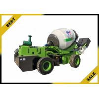 Buy cheap 3.2 M³ Mobile Concrete Mixer Truck Electronic Hydraulic  Automatic Feeding from wholesalers