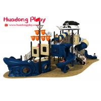 China Small Pirates Ship Theme Children ' S Outdoor Playground Equipment For Kids on sale
