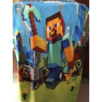 Buy cheap Minecraft Kids Bath Towel Minecraft Beach Towel Minecraft Creeper swim towel Christmas from wholesalers