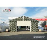 Buy cheap Sliding Door Aluminum Frame Helicopter Hangar , Temporary Private Jet Hangar from wholesalers