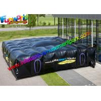 Buy cheap Commercial Outdoor Inflatable Laser tag Arena ,Sewing Inflatable Black Maze House from wholesalers