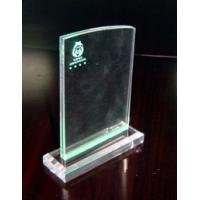 Buy cheap 4mm PMMA Acrylic Menu Holder , Advertising Posters Display Stand product