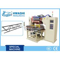 Buy cheap Automatic Wire Mesh Welder Reinforcing Steel Bar Welding Machine With Rotary Table from wholesalers
