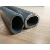 Buy cheap 180# Stainless Steel Tube Not Perforated , Oval Grooved Tubes 800G Mirror Finish from wholesalers